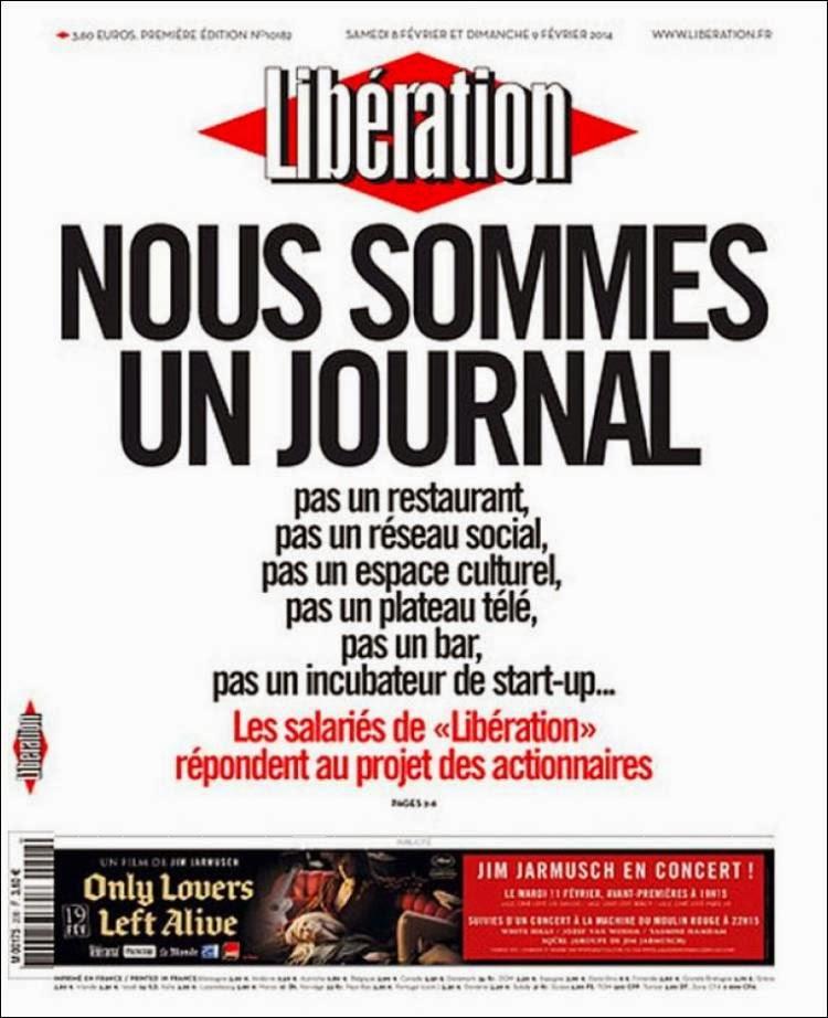 Liberation - Nous sommes un journal